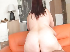 Round ass plump milf is hammered