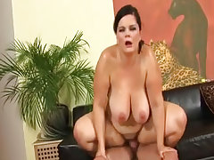 Porn adventure with lovely fat mature