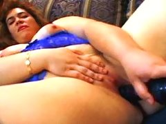 Pudgy lady fucks w black